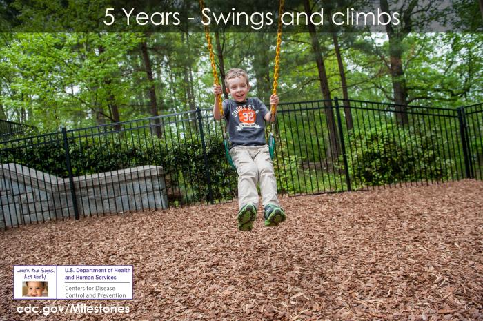 Swings and climbs